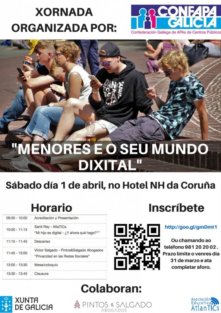 XORNADA MENORES E O SEU MUNDO DIXITAL